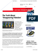 The Truth About 'Disappearing Palestine' - Israel Today | Israel News