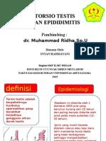 Torsio Testis dan epididimitis