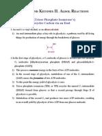 Aldehydes and Ketones II