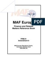 G Finance Manual MAF