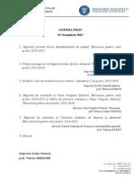 Agenda Sedinta Directori Sem I 2015