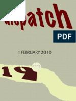 dispatch 19 - Avital Gad Cykman