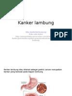 Kanker lambung