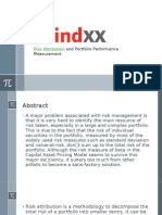 Risk Attribution and Portfolio Performance Measurement