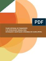 Plano Setorial de Transporte e de Mobilidade Urbana Para Mitigação e Adaptação à Mudança Do Clima - PSTM