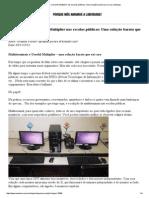 Linux Multiterminais Laboratorios