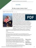 """Fernando Savater_ """"Mi Vida Es Comer, Dormir y Llorar"""""""