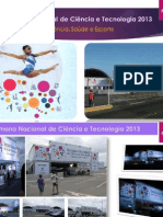 Semana Nacional de Ciência e Tecnologia 13