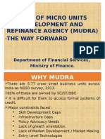 MUDRA - The Way Forward