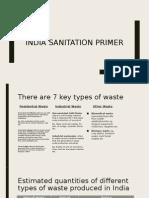 India Sanitation Primer