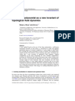 The Jones polynomial as a new invariant of topological fluid dynamics