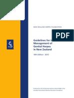 Genital Herpes Guidelines 2013 Web