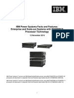 IBM POWER8 Systems Facts and Features
