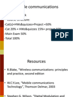 Mobile Communications CAT Slides