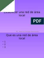 Establecer Una Red de Área Local