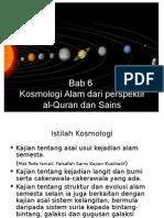Bab 6 Kosmologi Perspek. Al-Quran