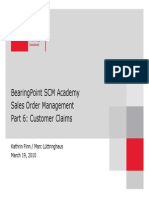 SCM Academy SD06 Customer Claims
