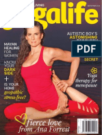 Yoga life interview with Medicine Woman and creatrix of Forrest Yoga, Ana Forrest.