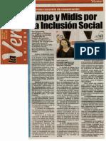 La Verdad 21-01-13 Ampe y Midis por la Inclusión Social