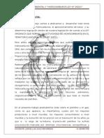 Derecho Ambiental (aprovechamiento de hidrocarburos)