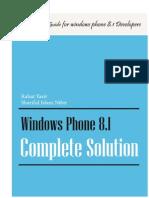 Windows Phone 8.1 Complete Solution by Rahat Yasir & Shariful Islam Nibir(Pradyutvam2)