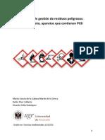 Gestión de residuos PCB