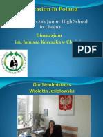 Prezentacja nauczycielska - teachers polish presentation 121015