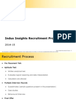 Indus Insights Recruitment Process