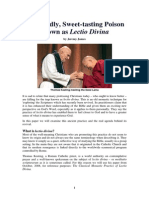 The Deadly Sweet-tasting Poison Known as Lectio Divina