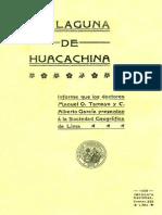 La Laguna de Huacachina | Manuel O. Tamayo y C. Alberto García