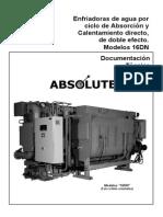 carrier 16 Dn Product Data Español