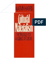 Marvin Harris materialismo cultural
