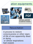 RESUSCITATION EQUIPMENT PPT