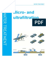 Micro and Ultra Filtration