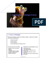 1.Introducao a Fisiologia Animal