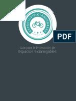 Guía para la Promoción de Espacios Biciamigables (BICIRED México)