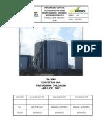 Ejemplo Informe tanque