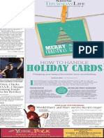 Living - Holiday cards - The Patriot-News, Nov. 11, 2015
