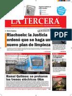 Diario La Tercera 19 11 2015