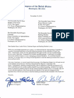 No Riders Letter, with signatures