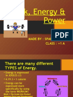 Honors Physics - Work and Energy (2)
