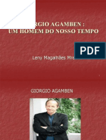 Trabalho Sobre o Giorgio Agamben