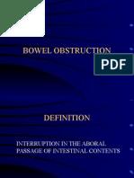 Bowel Obstruction