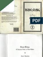 Rune Song by Yrmin Drighten of Rune Gild Edred Thorsson