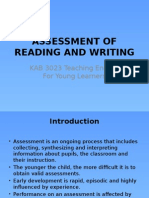 Assessment of Reading and Writing