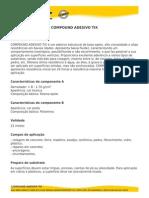 Vedacit - Compound Adesivo Tix