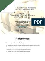 Fundamentals of Magnetic Resonancesadasdasd