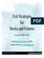 Exit Strategies for Stocks & Futures - Trade Management - Charles LeBeau