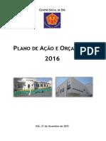 Plano de Ação 2016 - CSO