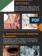 QUEMADURAS INTERNAS